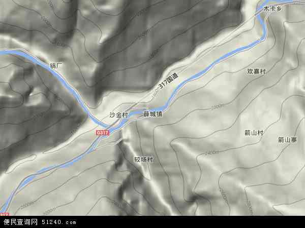 薛城镇地图 - 薛城镇卫星地图