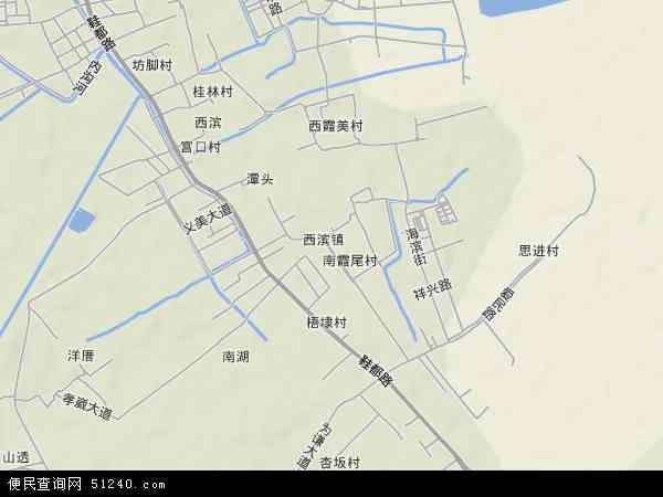 中国福建省泉州市晋江市西滨镇地图(卫星地图)