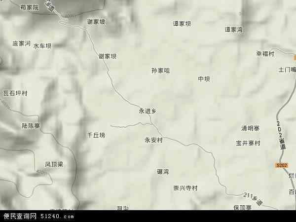 永进乡地图 永进乡卫星地图 永进乡高清航拍地图