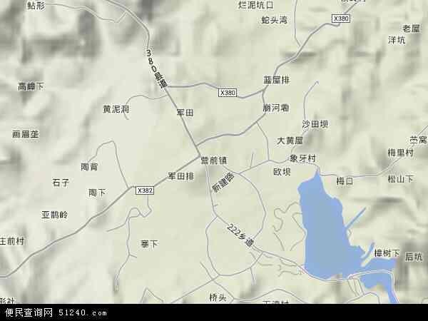 镇地图 营前镇卫星地图 营前镇高清航拍地图 营前镇高清卫星地图 营图片