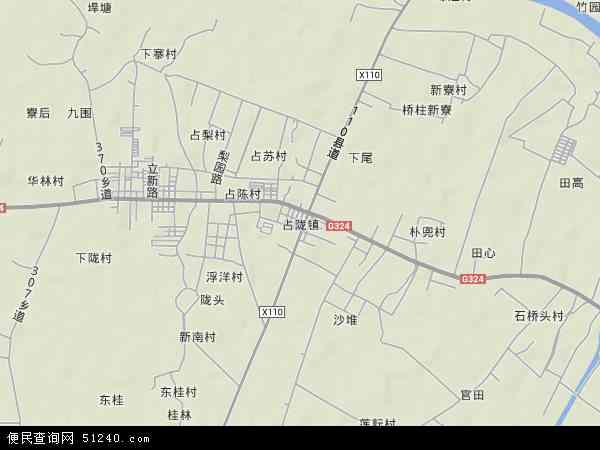中国 广东省 揭阳市 普宁市 占陇镇  本站收录有:2019占陇镇卫星地图图片