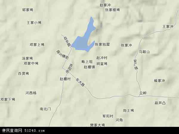 湖北省 孝感市 安陆市 赵棚镇  本站收录有:2017赵棚镇卫星地图高清