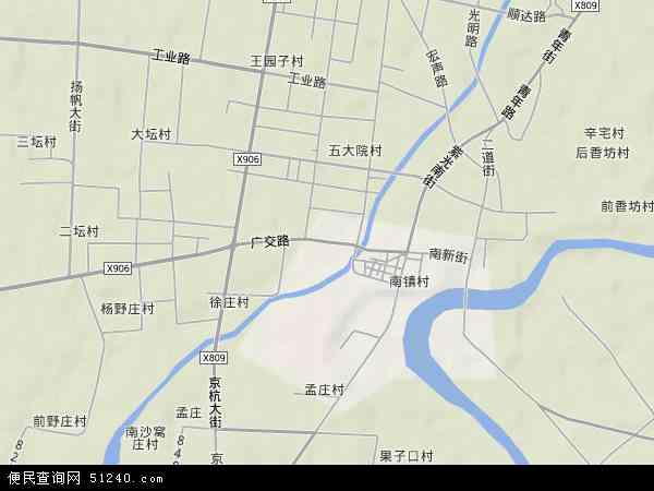 中国河北省衡水市故城县郑口镇地图(卫星地图)