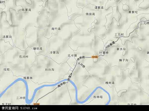 北斗镇地图 北斗镇卫星地图 北斗镇高清航拍地图 北斗镇高清卫星地图