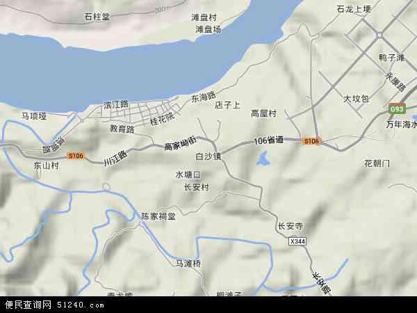 > 市辖区 >  江津区 白沙镇  本站收录有:2018白沙镇卫星地图高清版