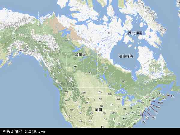 2016布列塔尼角卫星地图高清版