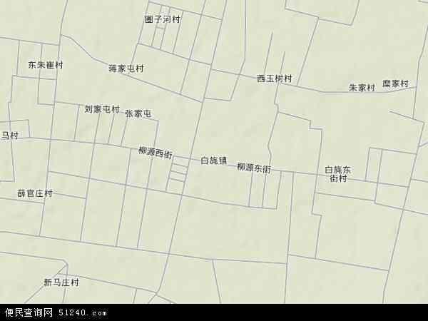 中国山东省临沂市临沭县白旄镇地图(卫星地图)