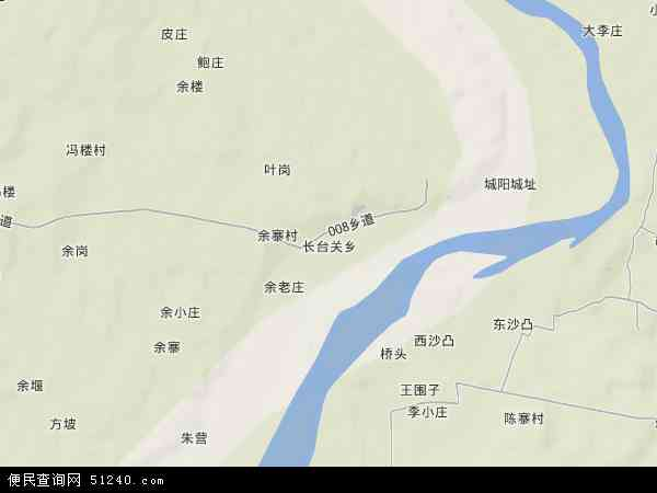 长台乡地图 - 长台乡卫星地图