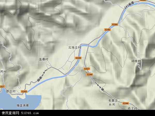 中国山东省济南市章丘市垛庄镇地图(卫星地图)