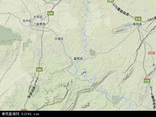 中国 四川省 自贡市 富顺县 福善镇  本站收录有:2017福善镇卫星地图