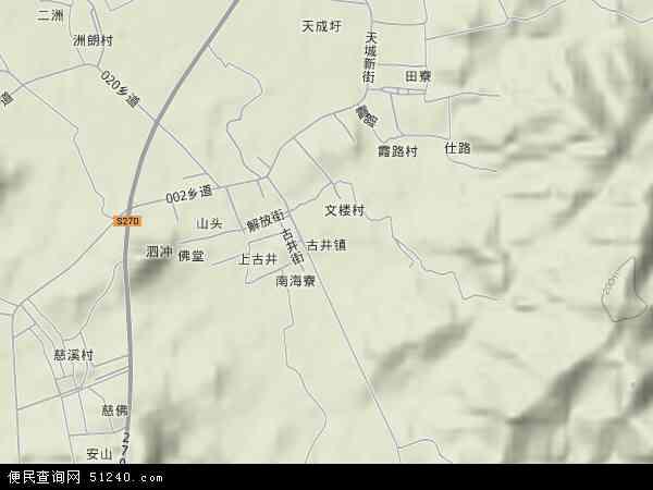 古井镇地图 古井镇卫星地图 古井镇高清航拍地图 古井镇高清卫星地图 图片