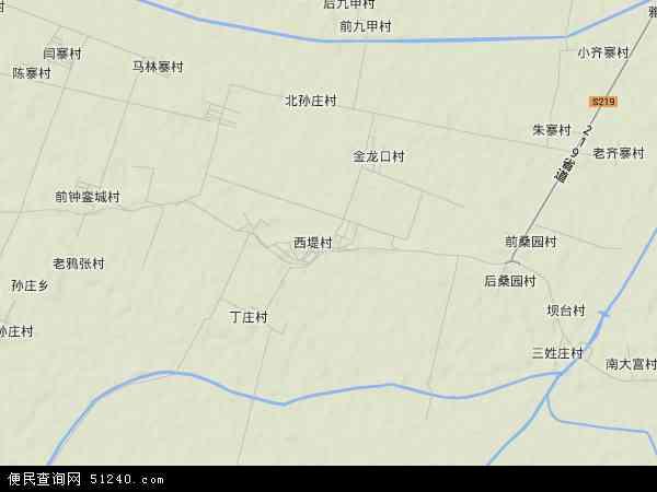 中国河南省新乡市封丘县荆宫乡地图(卫星地图)