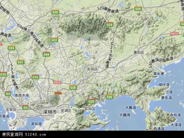 深圳龙岗区坂田_龙岗区地图 - 龙岗区卫星地图 - 龙岗区高清航拍地图
