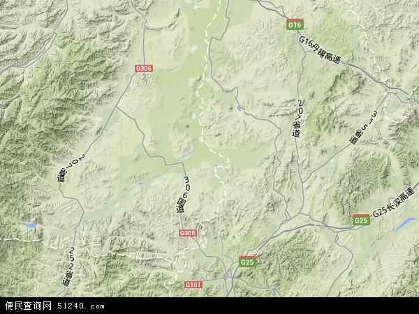 赤峰地图_宁城县地图 - 宁城县卫星地图 - 宁城县高清航拍地图