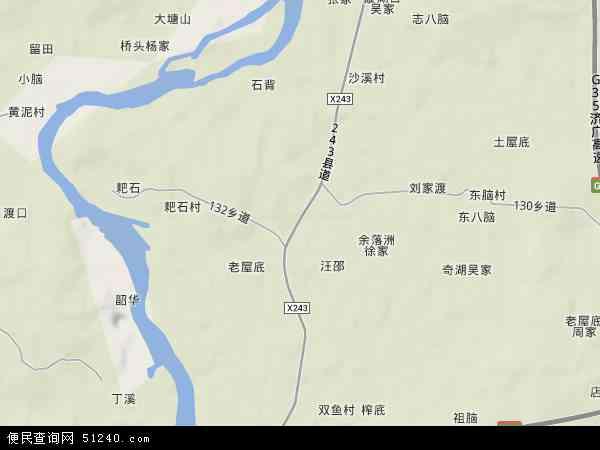 平定乡地图 - 平定乡卫星地图