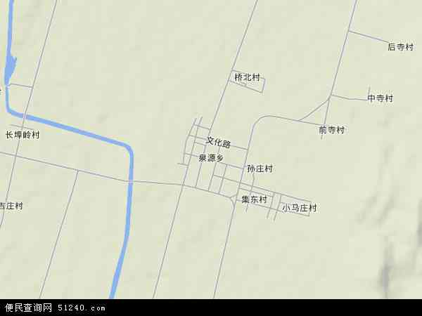 中国山东省临沂市郯城县泉源乡地图(卫星地图)