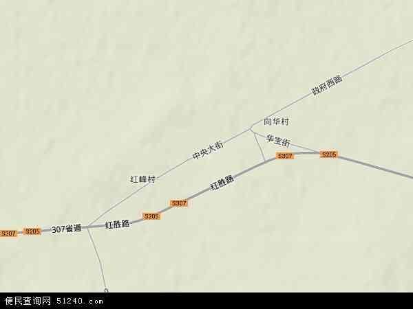 中国黑龙江省双鸭山市宝清县七星泡镇地图(卫星地图)图片