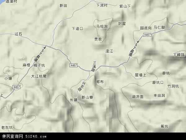 乡地图 三溪乡卫星地图 三溪乡高清航拍地图 三溪乡高清卫星地图 三图片
