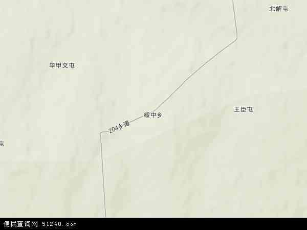 绥中乡地图 - 绥中乡卫星地图