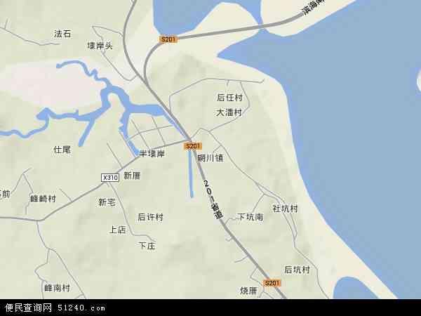 中国福建省泉州市惠安县辋川镇地图(卫星地图)