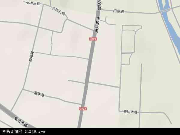 小桥大街高清卫星地图 小桥大街2017年卫星地图 中国青海省西宁市图片