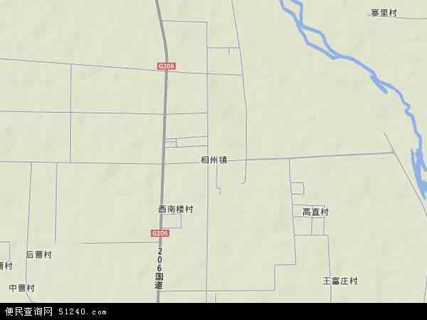 相州镇地图 - 相州镇卫星地图
