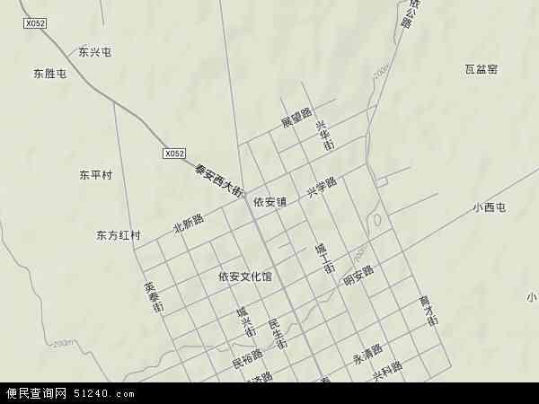 中国黑龙江省齐齐哈尔市依安县依安农场地图