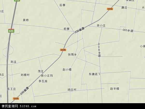 中国河南省信阳市息县张陶乡地图(卫星地图)