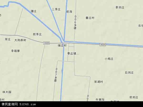 枣庄镇地图 - 枣庄镇卫星地图
