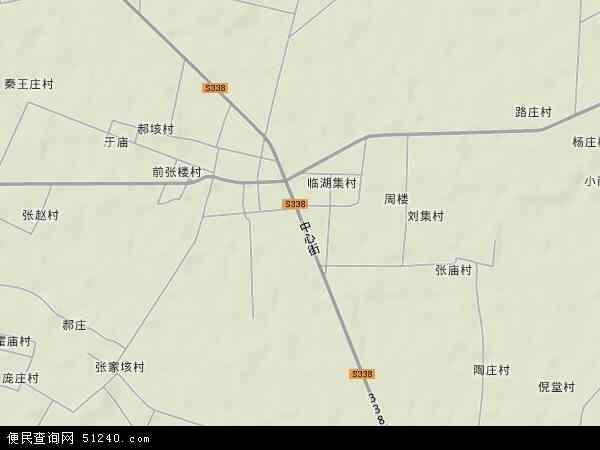 中国山东省济宁市嘉祥县大张楼镇地图(卫星地图)