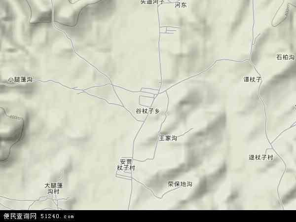 中国辽宁省葫芦岛市建昌县谷杖子乡地图(卫星地图)