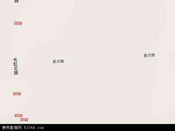 中国湖北省襄阳市樊城区高新区紫贞地图(卫星地图)