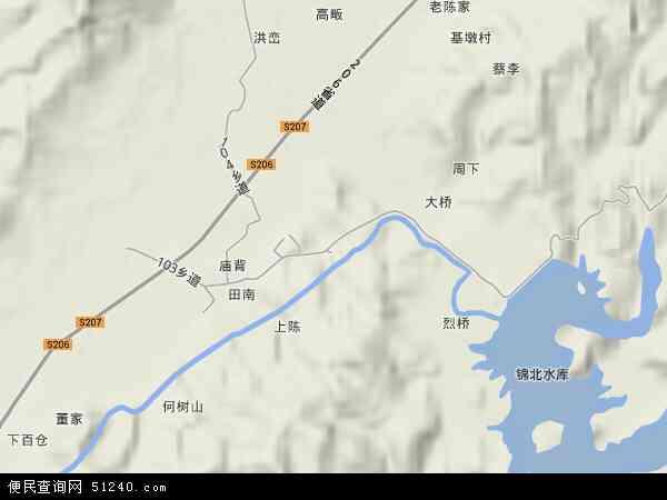 画桥镇地图 - 画桥镇卫星地图