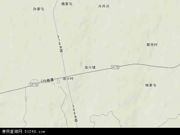 中国 黑龙江省 绥化市 海伦市 海兴镇  本站收录有:2018海兴镇卫星