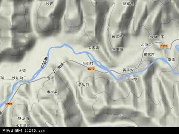 中国陕西省宝鸡市凤县黄牛铺镇地