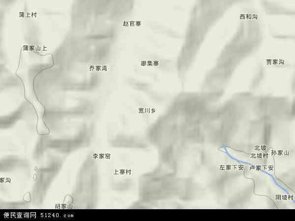 宽川乡地图 - 宽川乡卫星地图