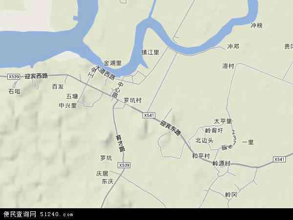 罗坑镇地图 罗坑镇卫星地图 罗坑镇高清航拍地图 罗坑镇高清卫星地图 图片