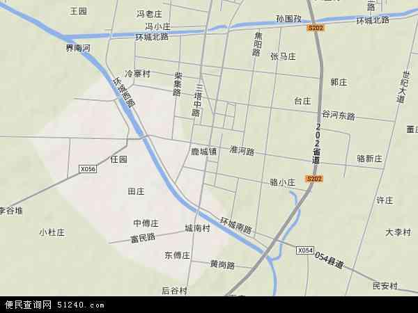 中国 安徽省 阜阳市 阜南县 鹿城镇  本站收录有:2018鹿城镇卫星地图