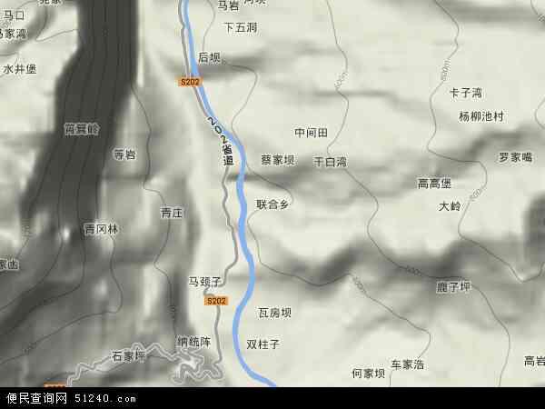 县 >  彭水苗族土家族自治县 联合乡  本站收录有:2018联合乡卫星地图