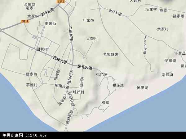 南康镇地图 - 南康镇卫星地图