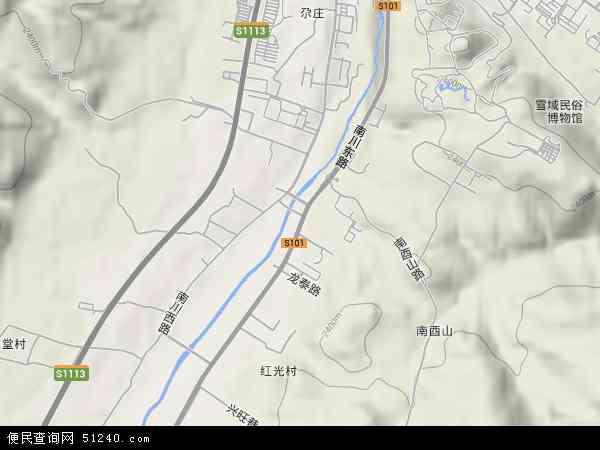 南川东路高清卫星地图 南川东路2017年卫星地图 中国青海省西宁市图片