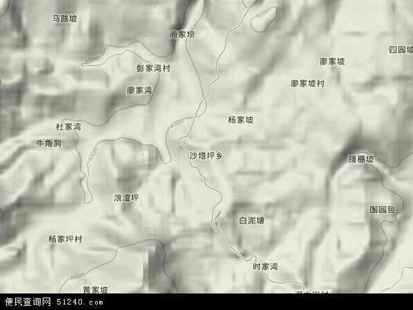 桑植县 沙塔坪乡  本站收录有:2016沙塔坪乡卫星地图