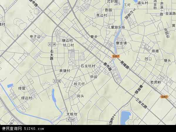 石龙坑村地图 石龙坑村卫星地图 石龙坑村高清航拍地图 石龙坑村高清图片