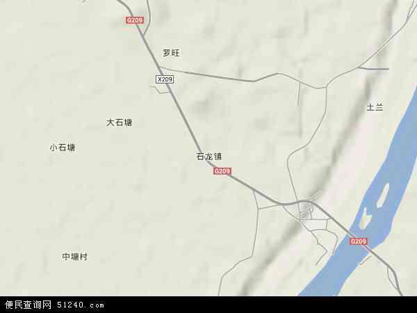 石龙镇地图 石龙镇卫星地图 石龙镇高清航拍地图图片