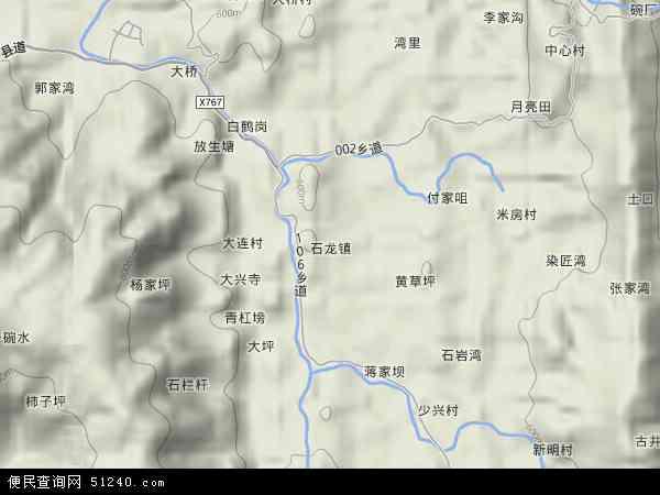 石龙镇地图 石龙镇卫星地图 石龙镇高清航拍地图 石龙镇高清卫星地图 图片