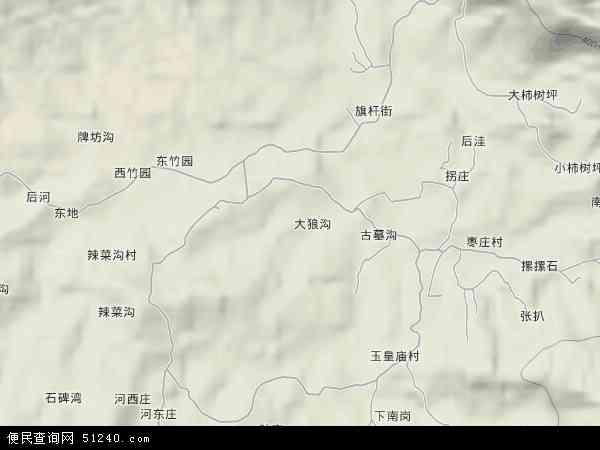 鲁山免费景区地图