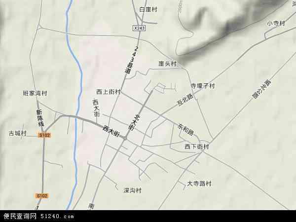 威远镇高清卫星地图 威远镇2017年卫星地图 中国青海省海东市互助图片