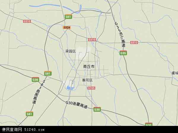 中国河南省商丘市睢阳区坞墙镇地图(卫星地图)