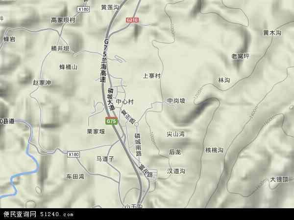 中国贵州省贵阳市息烽县小寨坝镇地图(卫星地图)