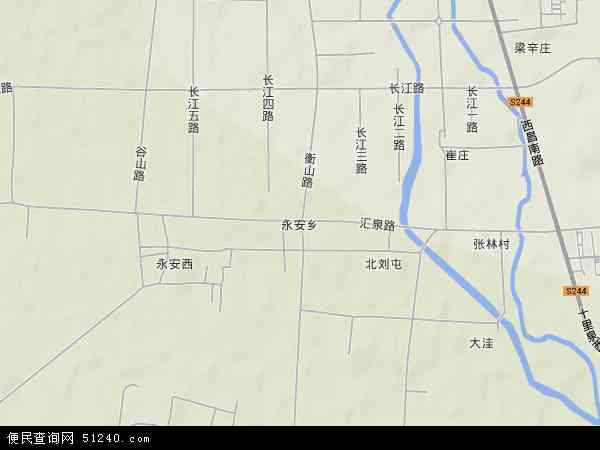枣庄市市中区地图